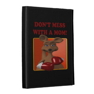Dont Mess With A Mom iPad Folio Covers