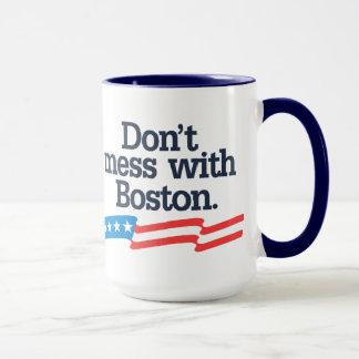 Don't Mess With Boston Mug