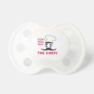 DONT MESS WITH CHEF BooginHead PACIFIER