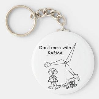 Don't mess with KARMA Keychain
