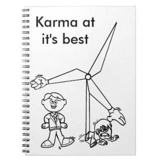 Don't mess with KARMA Notebook