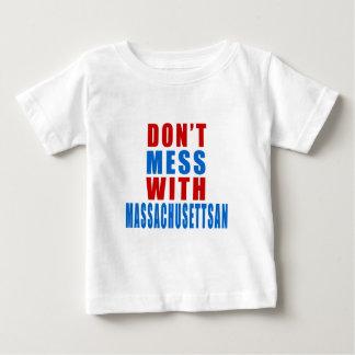 Don't Mess With MASSACHUSETTSAN T Shirts