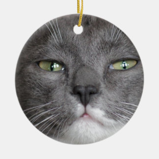DON'T MESS WITH ME!! CERAMIC ORNAMENT