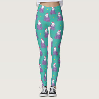 Don't Mess With Me Frenchie Design Leggings