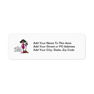 Don't Mess With Me Custom Return Address Label