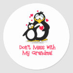 don't mess with my grandma! stickers