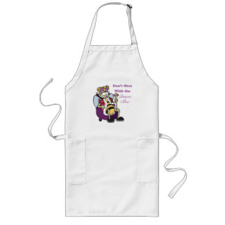 dont mess with queen bee long apron