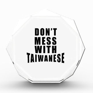 Don't Mess With TAIWANESE Award