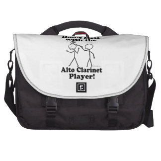 Don't Mess With The Alto Clarinet Player Commuter Bags