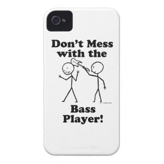 Don't Mess With The Bass Player iPhone 4 Cover
