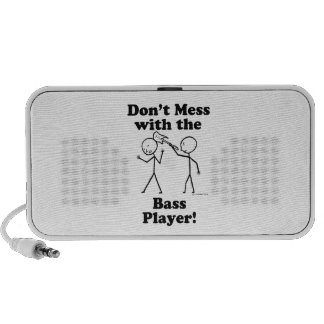 Don't Mess With The Bass Player PC Speakers