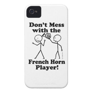 Don't Mess With The French Horn Player iPhone 4 Case-Mate Case