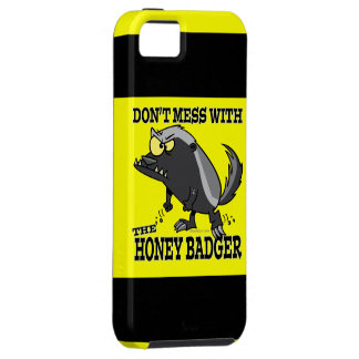 DONT MESS WITH THE HONEY BADGER iPhone SE/5/5s CASE