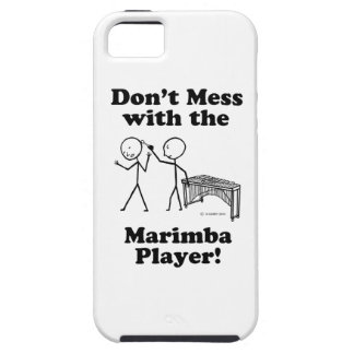 Don't Mess With The Marimba Player iPhone SE/5/5s Case