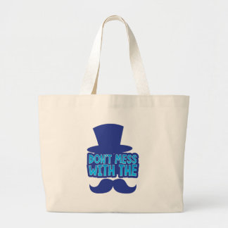 Don't mess with the Moustache Tote Bag