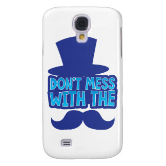 Don't mess with the Moustache Galaxy S4 Case