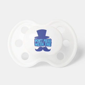 Don't mess with the Moustache Pacifier
