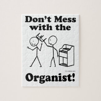 Don't Mess With The Organist Puzzles