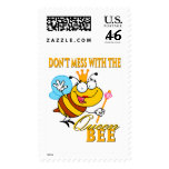 dont mess with the queen bee postage