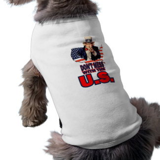 Don't Mess with the U.S. Dog Clothing