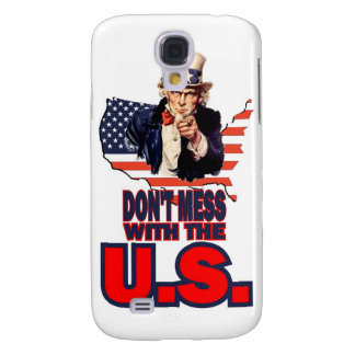 Don't Mess with the U.S. Galaxy S4 Covers