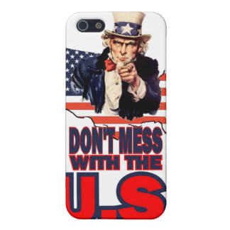 Don't Mess with the U.S. iPhone 5 Case