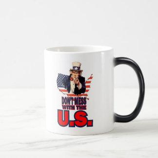 Don't Mess with the U.S. Magic Mug