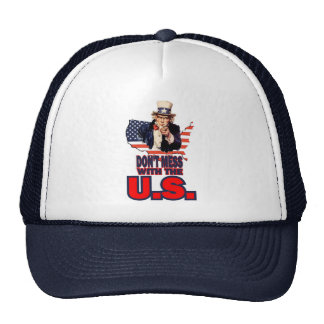 Don't Mess with the U.S. Mesh Hat