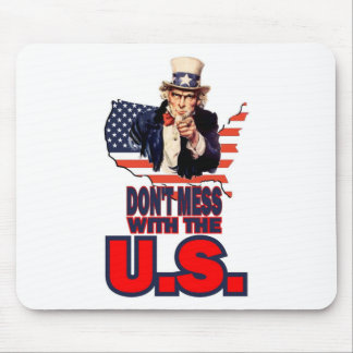 Don't Mess with the U.S. Mousepads
