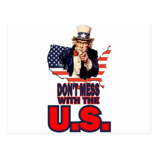 Don't Mess with the U.S. Postcards