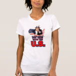 Don't Mess with the U.S. Tshirt