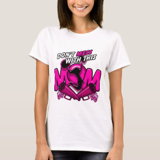 Don't Mess With This Cheer Mom T-Shirt
