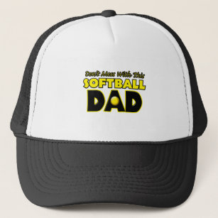 8c02a11c381 Don t Mess With This Softball Dad copy.png Trucker Hat