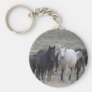 Don't Mess With Us Basic Round Button Keychain