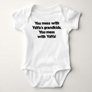 Don't Mess with YaYa's Grandkids Shirt