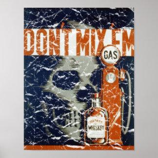 Don't Mix 'Em - 1936 - distressed Print