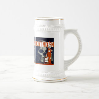Don't Mix Em-Don't Drink and Drive Beer Stein