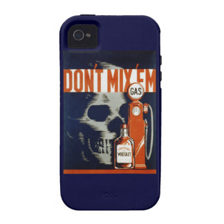 Don't Mix Em-Don't Drink and Drive Case-Mate iPhone 4 Cases