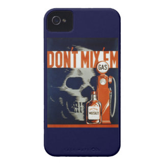 Don't Mix Em-Don't Drink and Drive Case-Mate iPhone 4 Case