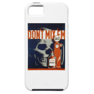 Don't Mix Em-Don't Drink and Drive iPhone SE/5/5s Case