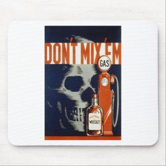 Don't mix 'em mouse pad