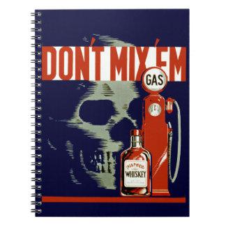Don't Mix Em Notebook