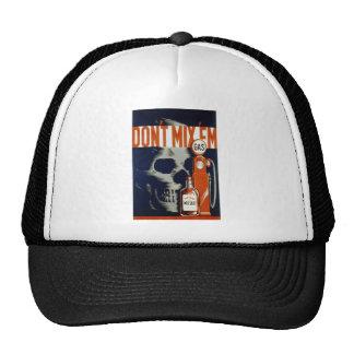 Don't mix 'em trucker hat