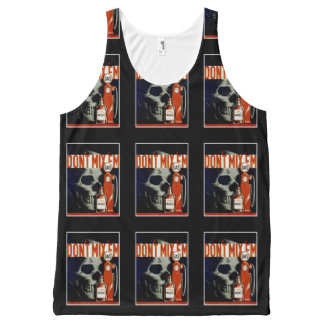 """Don't Mix Them"" vintage art tanktop All-Over Print Tank Top"