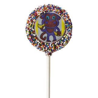 DON'T MONKEY AROUND LOLLIPOP CHOCOLATE DIPPED OREO POP