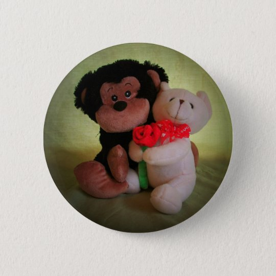 Don't monkey with my teddy bear button