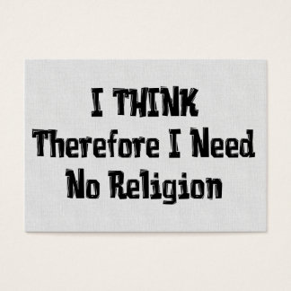 Don't Need Religion Business Card