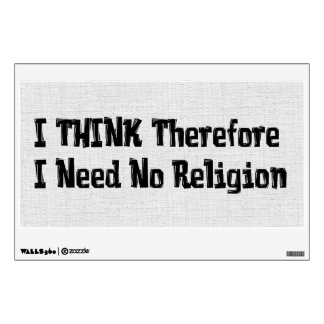 Don't Need Religion Wall Sticker
