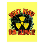 Don't Nuke Our Climate Post Card