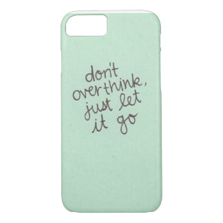 don't overthink iPhone 8/7 case